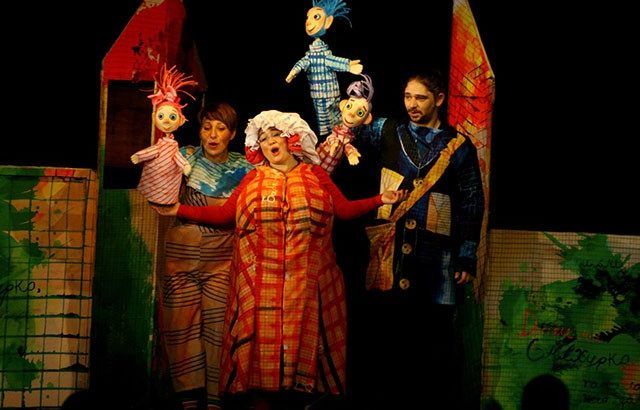 куклен театър русе представление