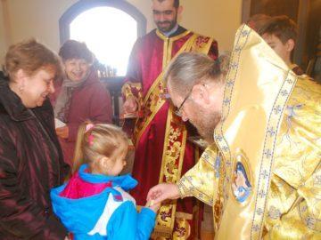 Архиерейски благослов за жителите на село Островче