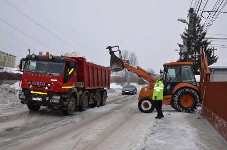 120 195 куб. метра сняг извозени от Гюргево за месец