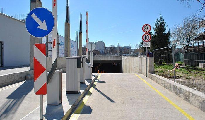 подземен паркинг Булстрад Арена