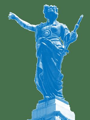 статуя на свободата в русе 300