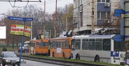 тролейбуси еггед русе