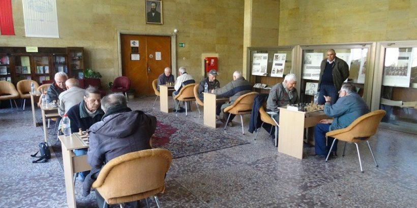 шахматен турнир за пенсионери