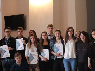 СУПНЕ Фридрих Шилер връчване на немски езикови дипломи