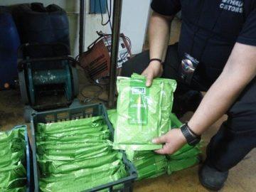 149 кг тютюн за наргиле и 180 кутии цигари без бандерол