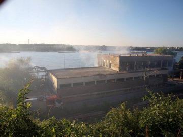 гребна база русе пожар