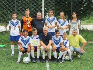 Отборът на Ценово се завърна с бронзови медали от Аксаково