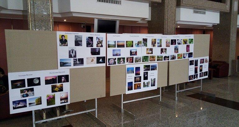 С цветна и разнородна изложба се представиха днес членовете на фотоклуба към Младежкия дом - Русе