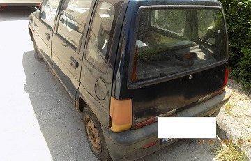 Големи санкции заплашват собствениците на изоставени МПС в Гюргево