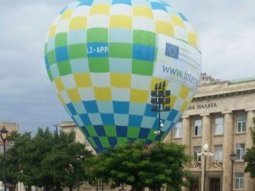 Нов туристически продукт - летене с топловъздушен балон бе представен в Русе