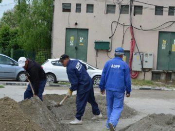 Продължават ремонтите на улици и тротоари в Гюргево