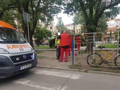 Велосипедист пострада на пешеходна пътека в Русе