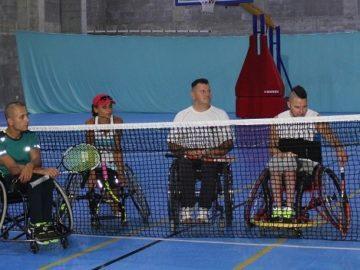 """Демонстрация по тенис на корт от хора с физически увреждания се проведе в """"Булстрад Арена"""""""