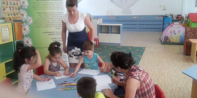 Дoпълнителна подготовка на бъдещи първокласници – в нова лятна услуга по проект на Община Русе