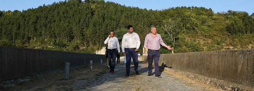 Андрей Новаков, Пламен Нунев и Димитър Славов направиха преглед на няколко значими обекта в град Бяла