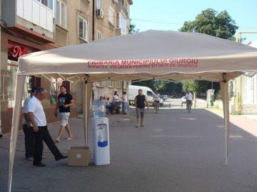 Община Гюргево раздава безплатна минерална вода в горещините