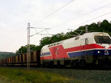 товарен влак гърция българия