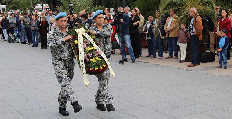 цветя венци военни независимост на българия