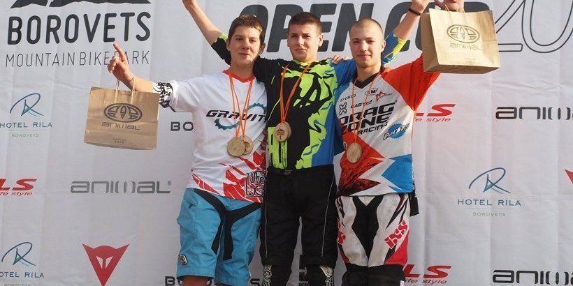 Два златни медала от две състезания за два дни спечели байкърът Йордан Анчев