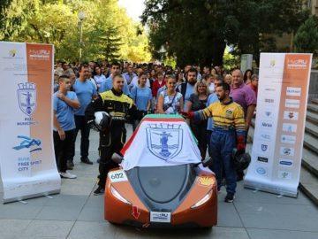 Автомобил с водородна клетка на Русенския университет ще участва в състезание в Истанбул