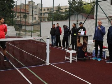 Народният представител Пламен Нунев откри турнир по тенис в Бяла