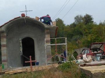 Завърши грубият строеж на нов параклис до Бяла