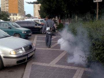 Започва наземно пръскане срещу комари в Община Гюргево