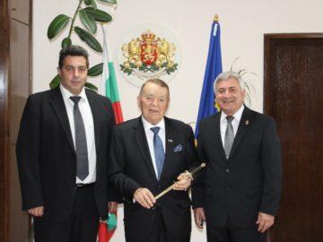 Игнат Канев посети Областна администрация - Русе