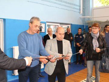 Откриха изцяло обновената зала за тенис на маса на Щип