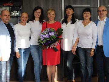 Зам.-кметът по икономика, инвестиции и собственост Даниела Шилкова отпразнува с много настроение рождения си ден днес