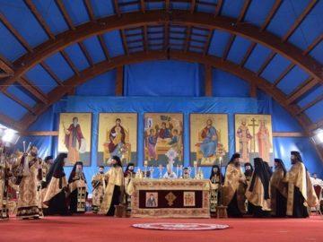 Русенският митрополит Наум възглави празничното бдение в Букурещ в навечерието на празника на Св. Димитър Басарбовски