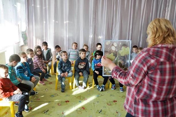 """Уредници от отдел """"Природа"""" на Регионален исторически музей - Русе помагат за екологичното възпитаниe"""