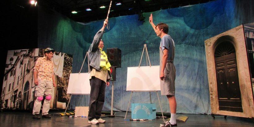 """2 образователни пиеси на Драматичен театър """"Сава Огнянов"""" - Русе разясняват на учениците правилата за движение и безопасното боравене с огън"""