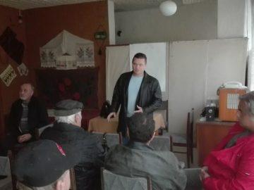 Народният представител Пенчо Милков проведе приемна за граждани в Просена
