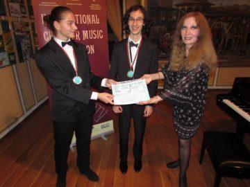 """Русенското дуо """"Апасионато"""" спечели поредна международна награда"""