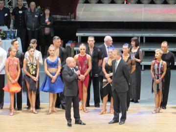 кмет открива спортни танци