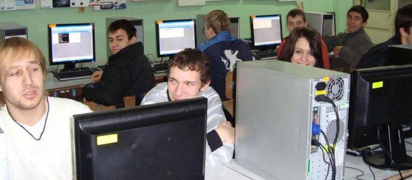 пгее арнаудов ученици компютри