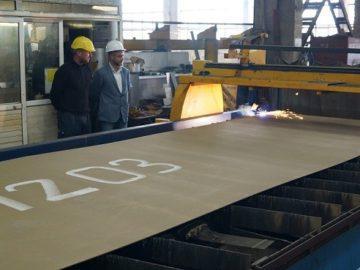 Започнаха строителните дейности за изграждането на маркиращия кораб за ИАППД