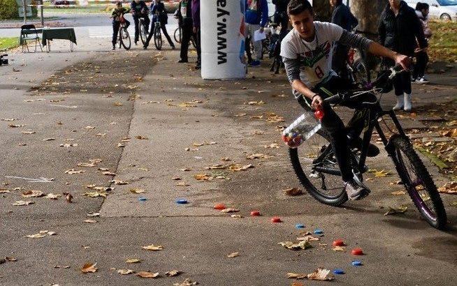 Състезание по добро управление на велосипед се проведе в Русе