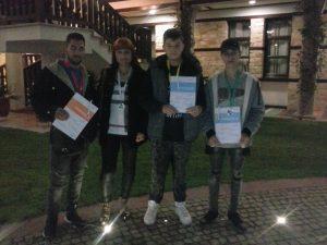 """Ученици от ПГ по транспорт представиха Русе на състезанието по чужди езици """"Аз мога – тук и сега"""""""