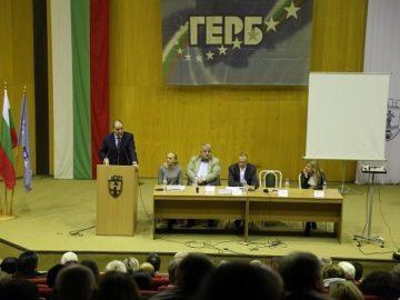 Цветан Цветанов в Русе: Смехотворно, несериозно и безотговорно е държавата да отива на нови избори, каквото е желанието на политическите ни опоненти