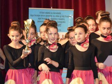 "Балерините на танцово студио ""Импулс"" с призови места на конкурс в Румъния"