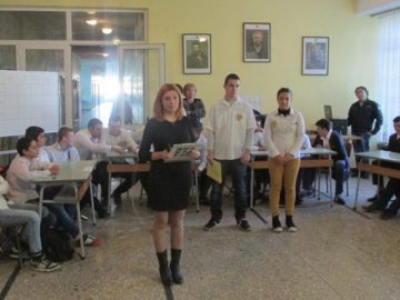 В ПГ по транспорт - Русе честваха Деня на народните будители