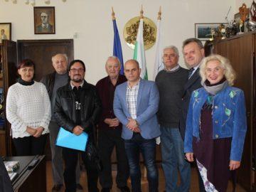 Кметът Пламен Стоилов се срещна днес с новия директор на Държавна Опера Русе Иван Кюркчиев