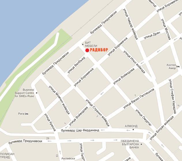карта радибор