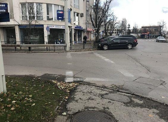 опасна пешеходна пътека