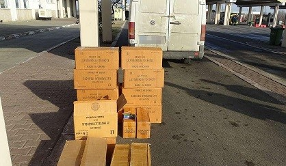 Десетки хиляди пиротехнически изделия без документи задържаха на Дунав мост 1