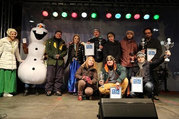 Зимна приказка сътвориха майстори на леда на Ruse Ice Fest 2017