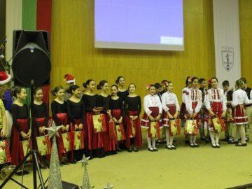 Коледно-новогодишно тържество за децата, потребители на социални услуги, подари Община Русе