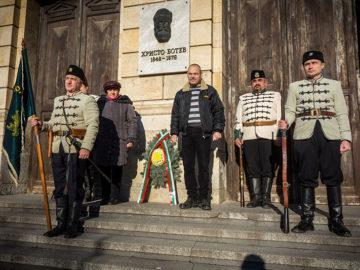 Членове на Дружество Традиция Русе се включиха в националните тържества по случай 170 годишнината от рождението на Христо Ботев